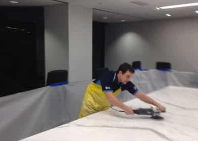 Marble Polishing Before Pictures