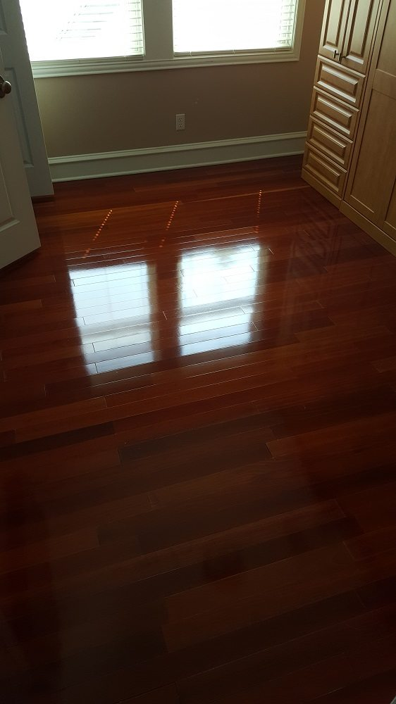 Hardwood floor cleaning revitalize your hardwood floors for Hardwood floors too shiny