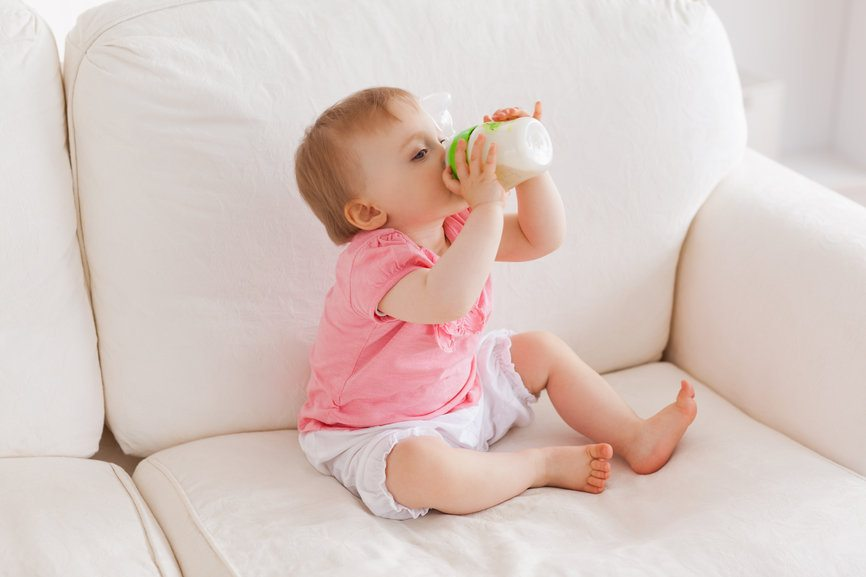 How To Get Baby Vomit Out Of The Couch.