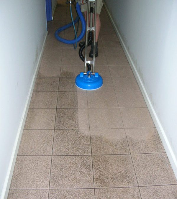 Tile Floor Cleaner, Cleans Tile For You