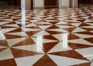 Travertine Floor Cleaning 1